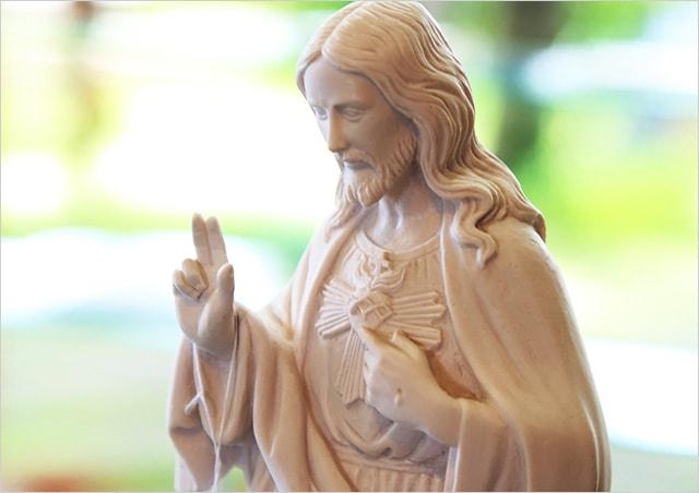 イエス像 ショップガリラヤの丘